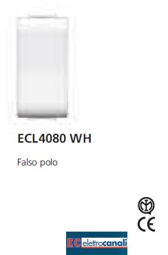 Copriforo LIFE WH ECL4080WH