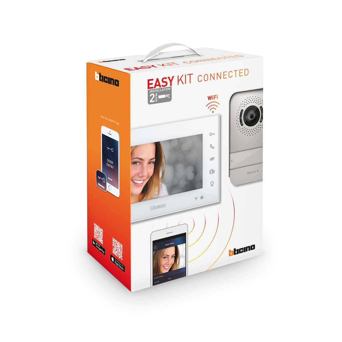 Videocitofono WiFi EASY KIT CONNECTED - BTICINO