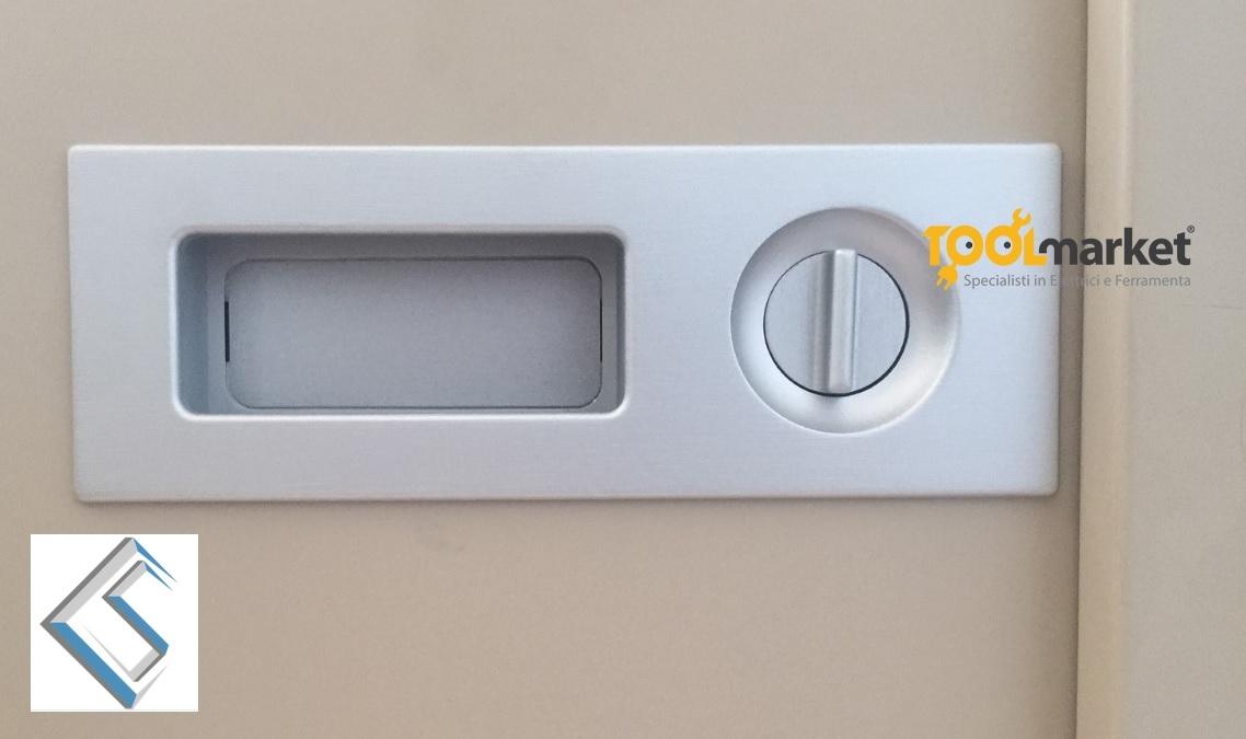 Maniglia Duplex Saletti-Componenta porte battenti e scorrevoli
