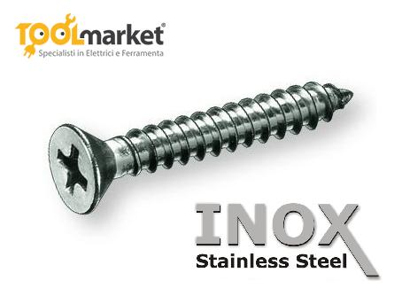 Viti autofilettanti INOX diametro 5,5mm