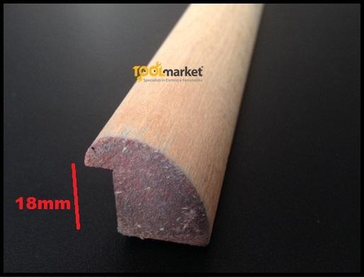Fermavetro legno sagoma L18