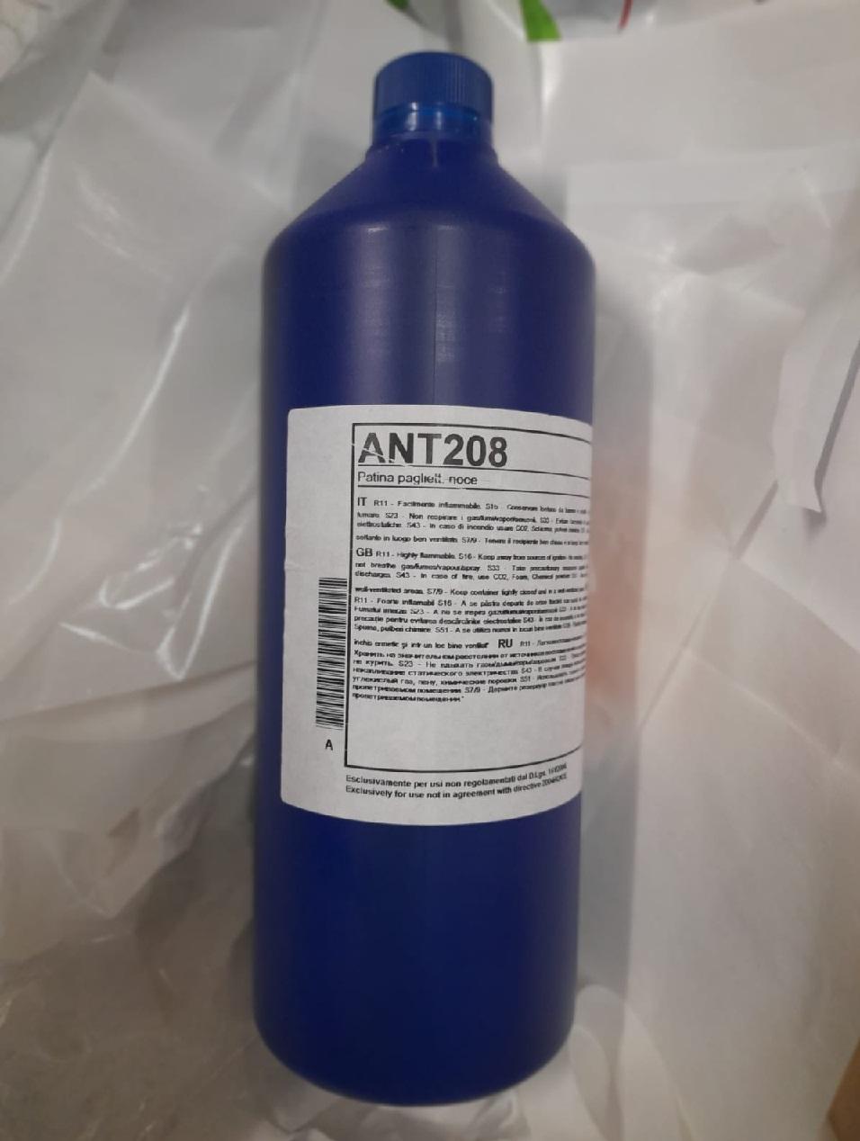 Patina a solvente pagliettabile ANT 208  NOCE da 1 lt - SIRCA