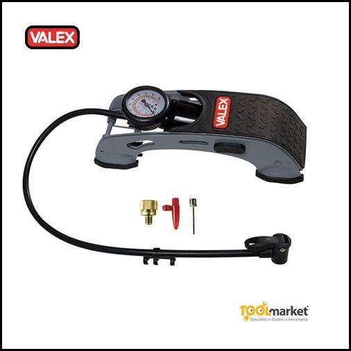 Pompa a pedale con manometro - VALEX