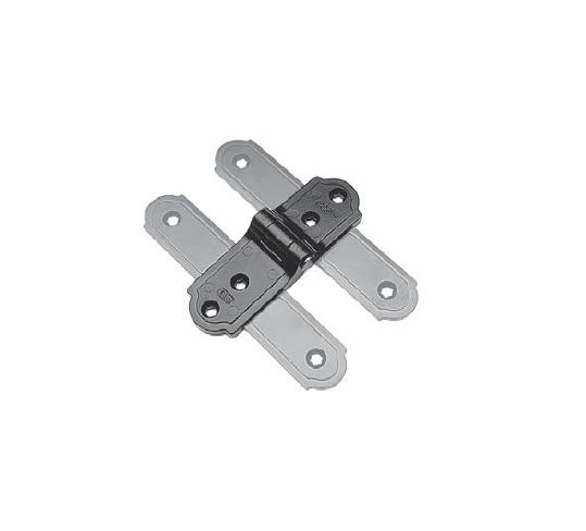 Cerniera complanare asimmetrica per bandella verticale H009310293