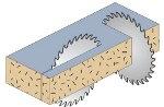 disco per legno 250mm 48 denti