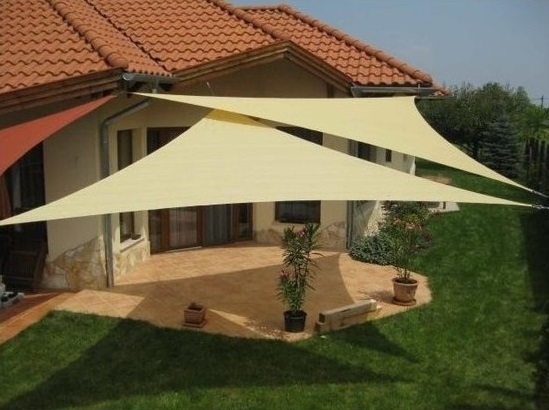 Telo vela ombreggiante triangolo 3.6x3.6x3.6 mt
