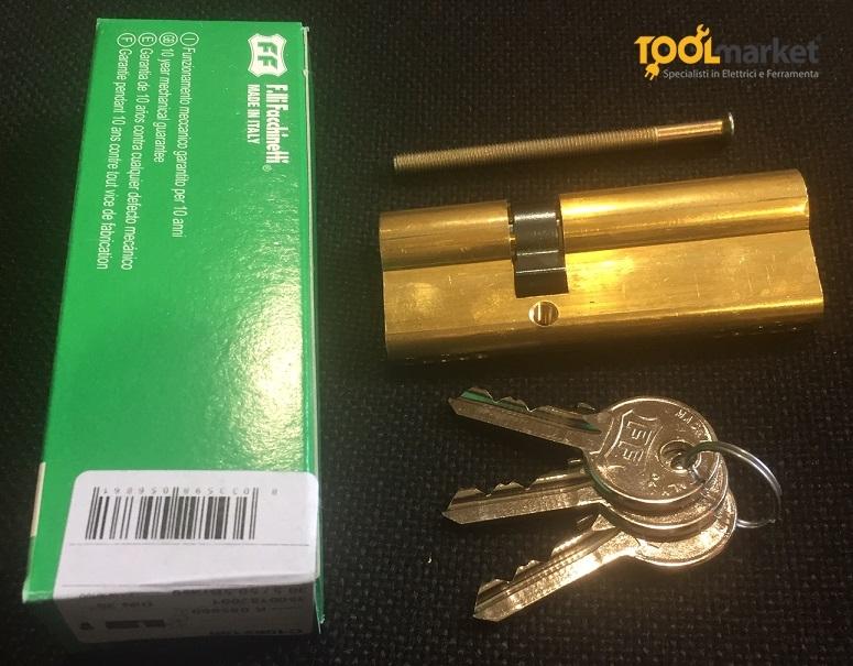 Cilindro FF Facchinetti sagomato C10 ottone