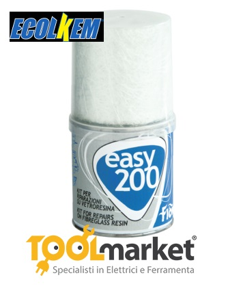 Kit vetroresina per riparazione easy 200