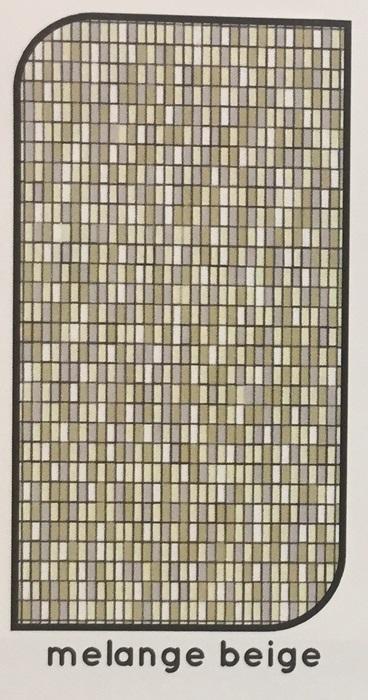 Tenda antimosche piastrina 120 x 225 melage beige