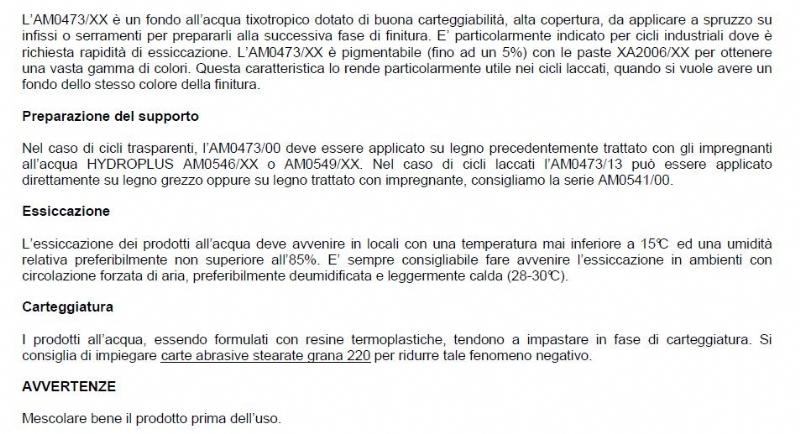 Fondo ad acqua per esterni trasparente AM0473/00 da  lt6 - SAYERLACK