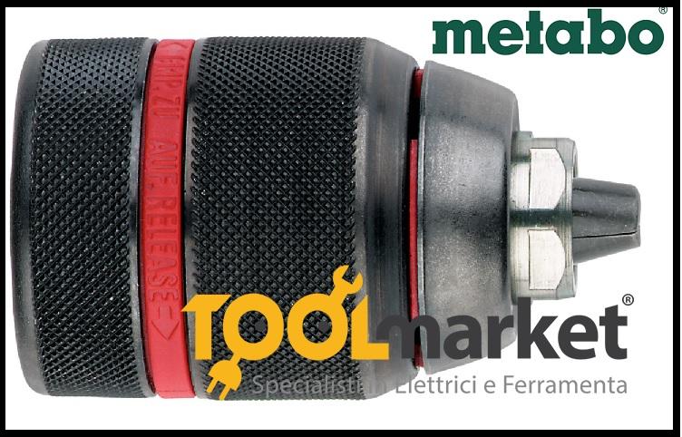 Mandrino autoserrante 13mm professionale metabo 636620