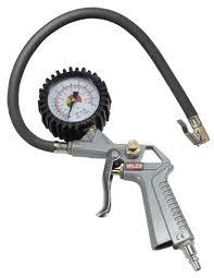 pistola gonfiaggio con manometro