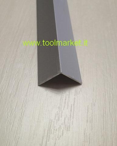 Profilo alluminio angolare Anodizzato argento