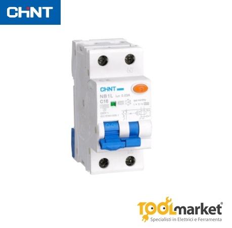 Interruttore automatico magnetotermico differenziale NB1L Chint