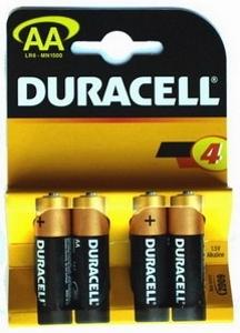 Batterie 1,5v stilo 4pz