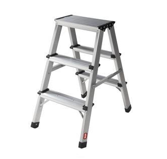 Scala alluminio 3 gradini