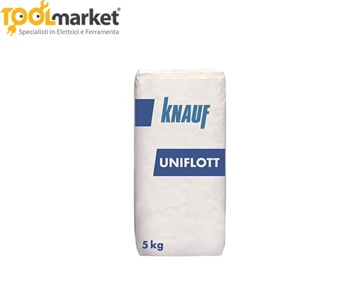 Stucco UNIFLOTT da 5kg KNAUF