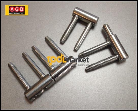Cerniera anuba registrabile 3D zincata E01150
