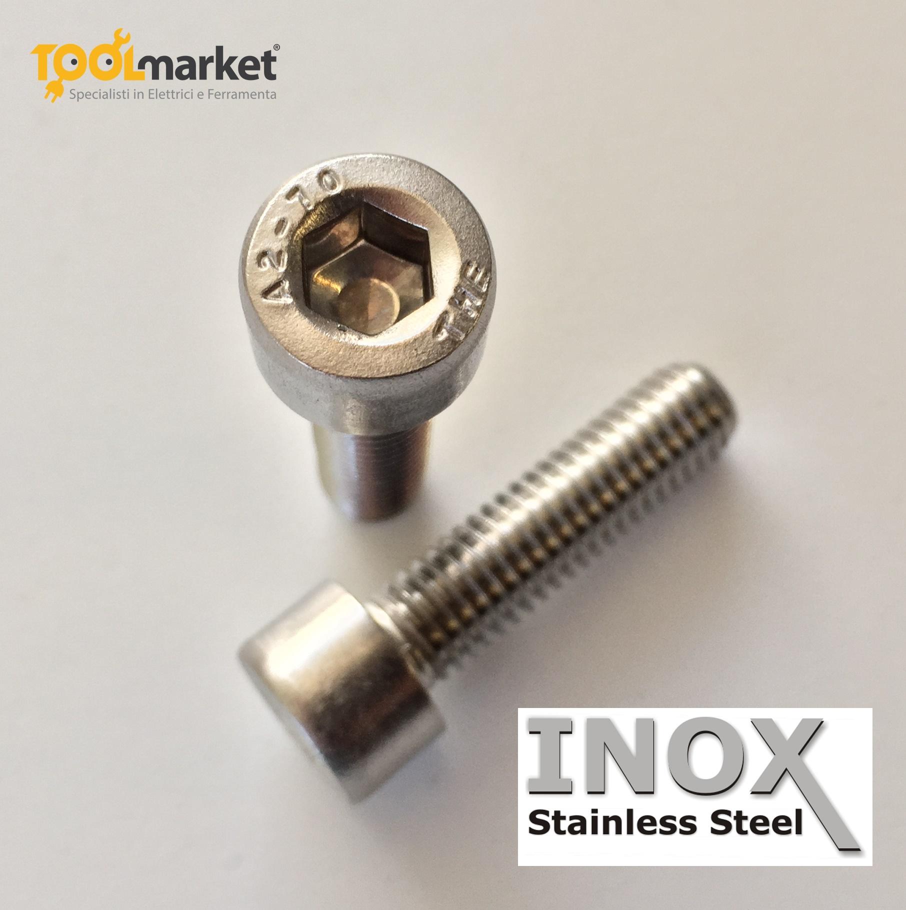Bulloni TCE INOX diametro 6mm