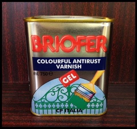 Smalto antiruggine Briofer GEL 0,750lt