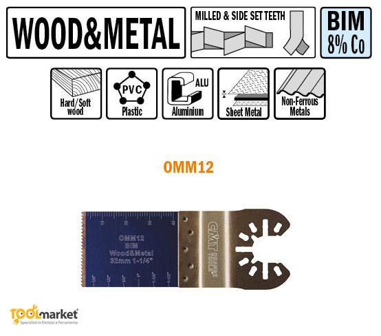 Lama multiutensile OMM012 32mm
