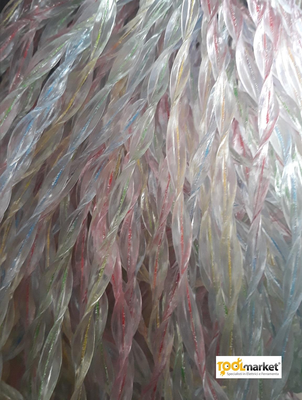 Tenda antimosche ELIX  in pvc estruso  120 x 230 multicolor