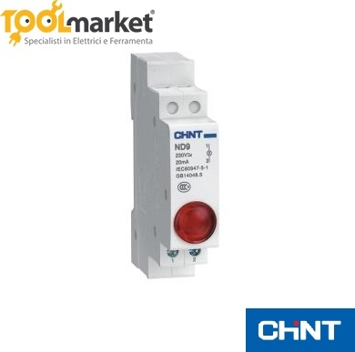 Spia led NDR9-1/R Rossa Chint