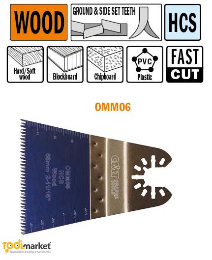 Lama multiutensile OMM06 68mm