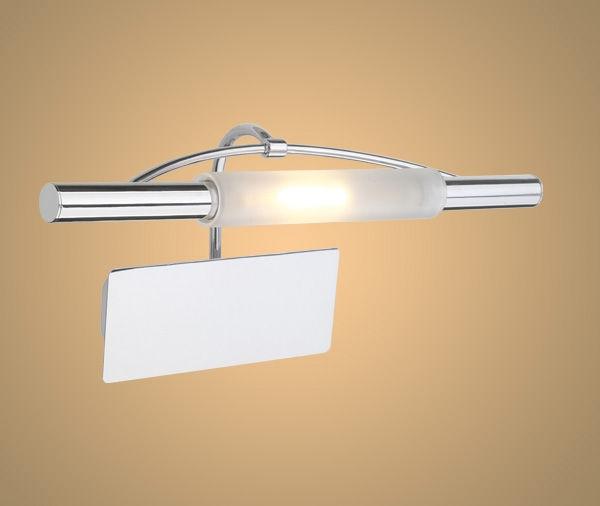 Faretto da specchio alogeno cromo/vetro 89647