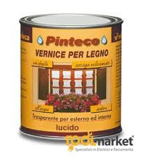 Vernice ad acqua per esterni/interni PINTECO LUCIDO lt 0.75