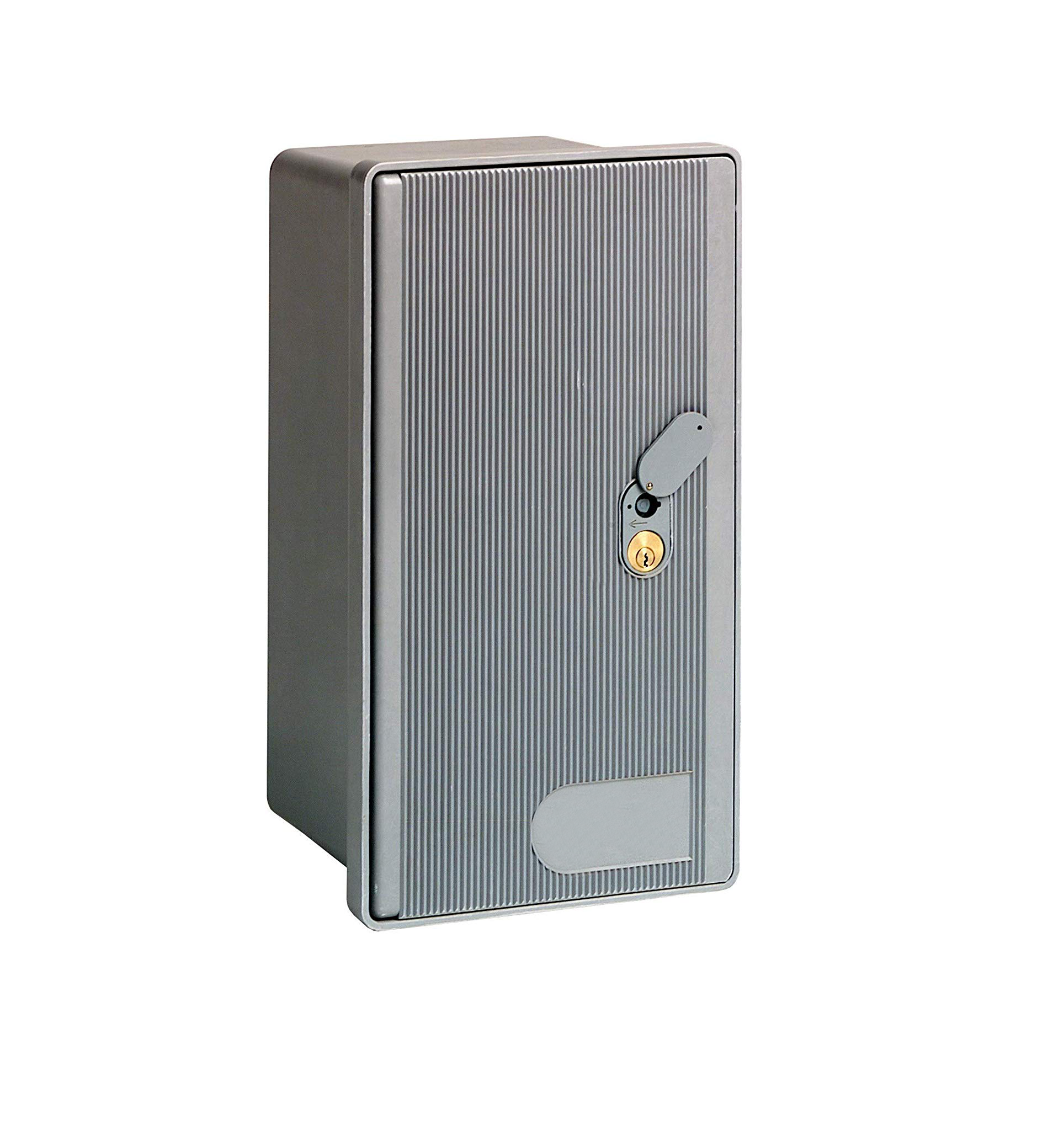 Contenitore per cassetta enel 1 posto con serratura