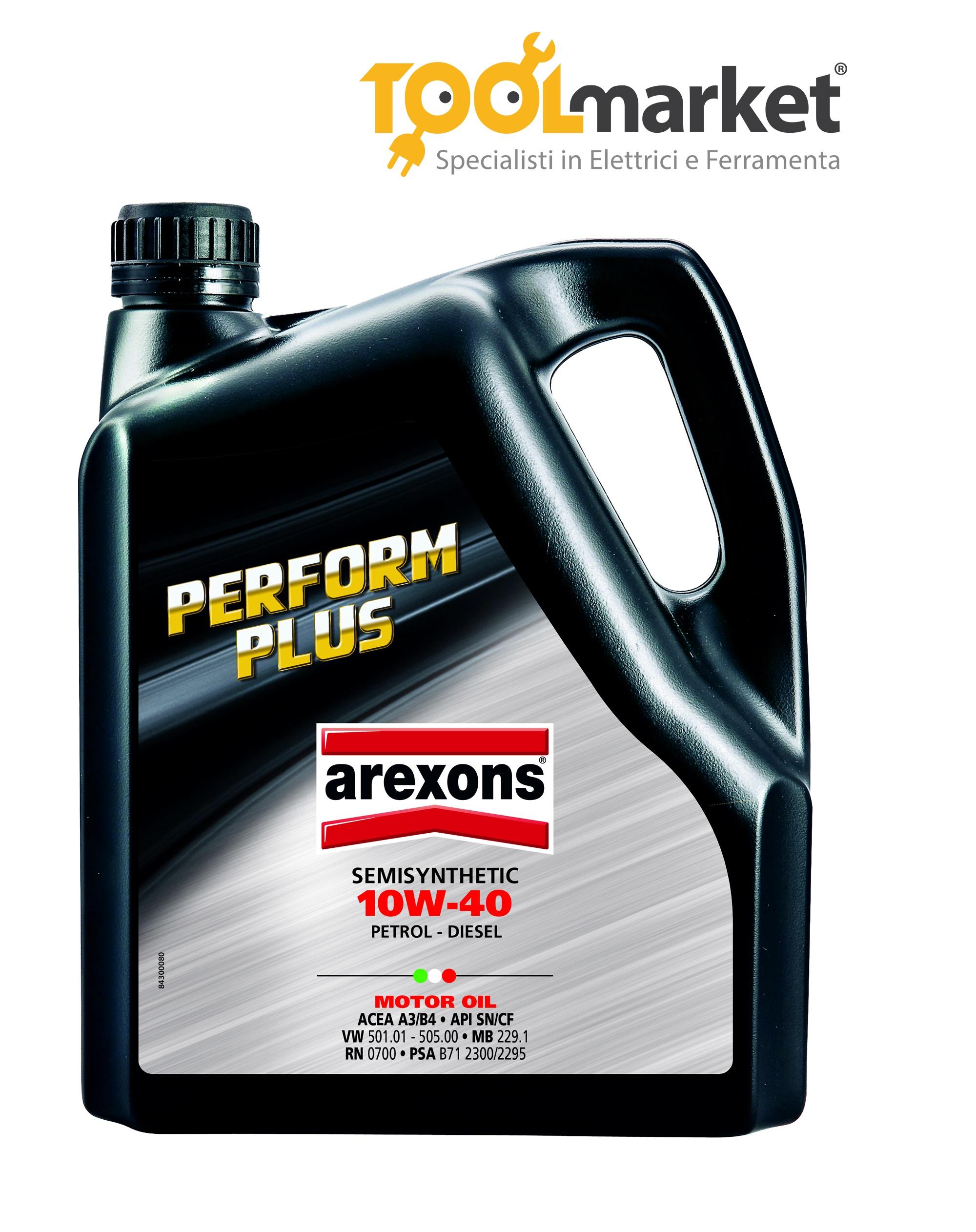 Olio motore PERFORM PLUS Arexons
