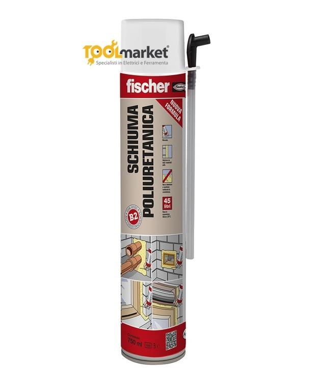 Schiuma fischer poliuretanica manuale