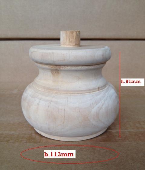Piede in legno 91x113