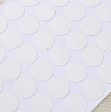 tappo autoadesivo copriforo diametro 20 bianco