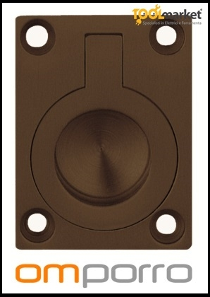 Maniglia per porte libro 587 bronzo