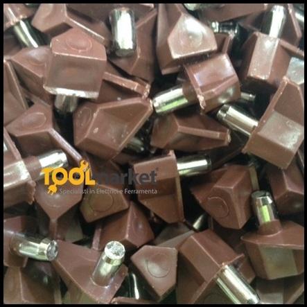 Reggipiano incastro plastificato marrone in confezioni