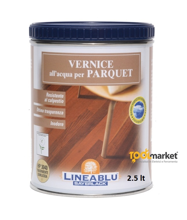 Vernice all'acqua per parquet HP3040