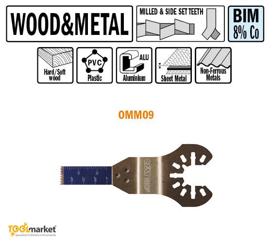 Lama multiutensile OMM09 10mm