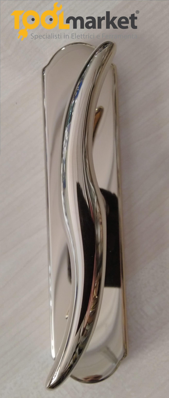 Maniglia cremonese bronzo/oroplus modello PETER - COLOMBO