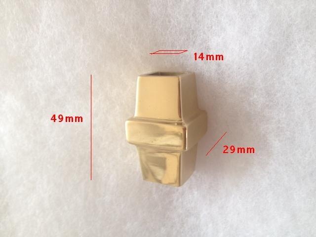 Nodo ottone lucido verniciato BAL1