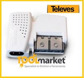 Amplificazione TV c/Autoregolato Televes 560543