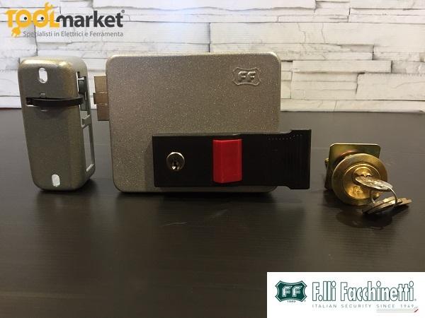 FF serratura elettrica con elettromagnete a 2 bobine per legno P24