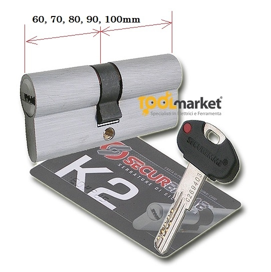 Cilindro Securemme K2 europeo