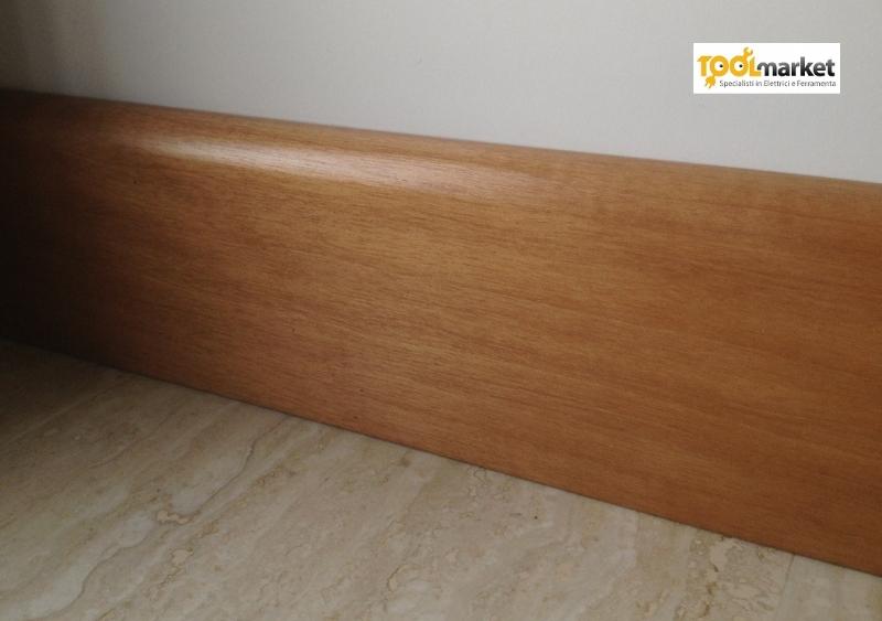 Battiscopa legno 80mm
