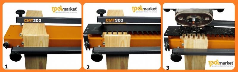 Guida per giunzioni coda di rondine CMT300