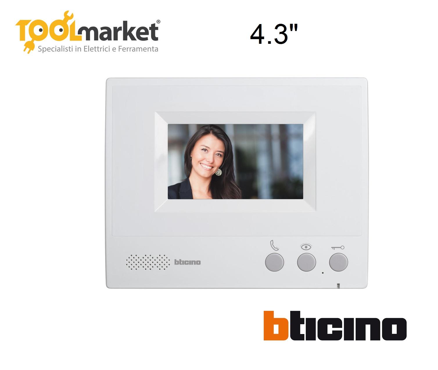 """Monitor aggiuntivo 4,3"""" BTICINO 330651"""