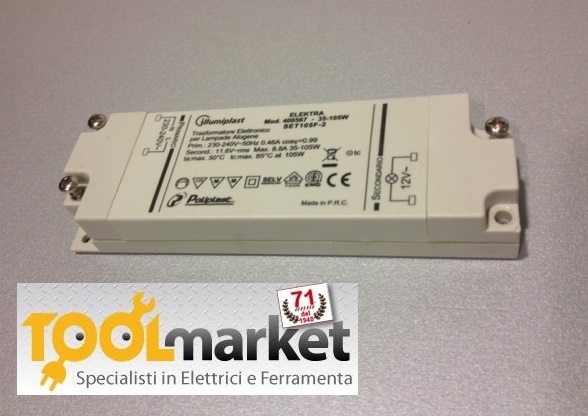 Trasformatore elettronico 105W