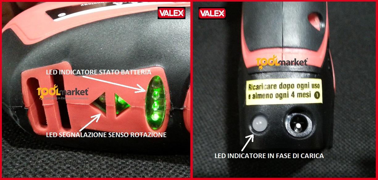 Tassellatore a batteria a litio hammer 14,4 sds-plus