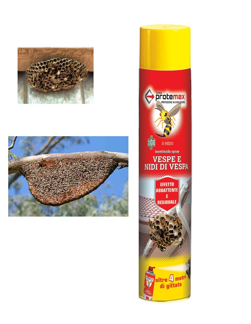 Insetticida spray per vespe e nidi di vespa - LINE PROTEMAX